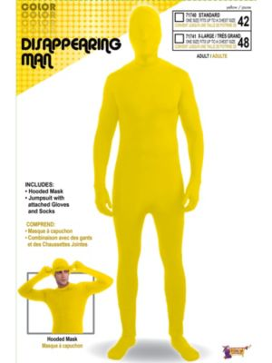 Men's Disappearing Man Yellow Suit
