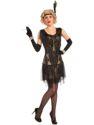 Adult Roaring 20's Lacey Lindy Costume