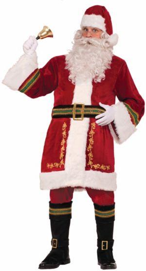 Adult Standard Size Premium Classic Santa Suit