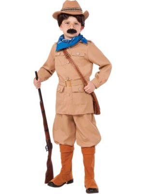 Teddy Roosevelt Boys Costume