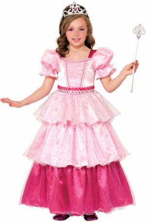 GIRLS DELUXE PINK SUGAR PRINCESS COSTUME