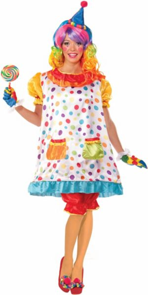 Adult Wiggles the Clown Costume