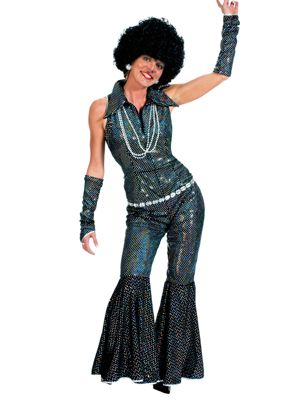 Adult Boogie Queen Costume