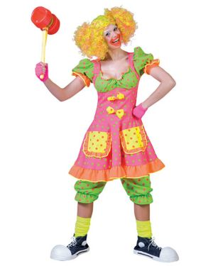 Adult  Pokey Dot Clown Costume