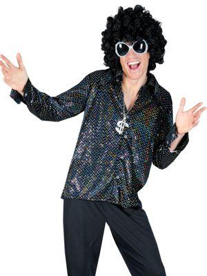 Adult Boogie Night Shirt Costume