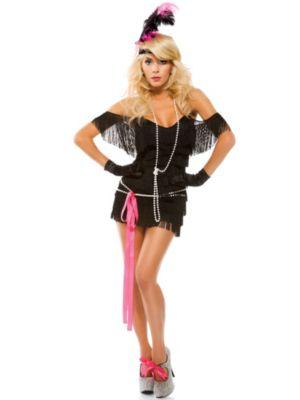 Sexy Adult Foxy Fringe Costume