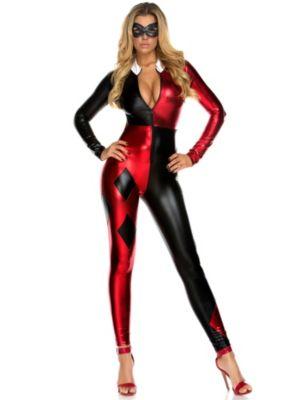 Sexy Adult Jazzy Jester Costume