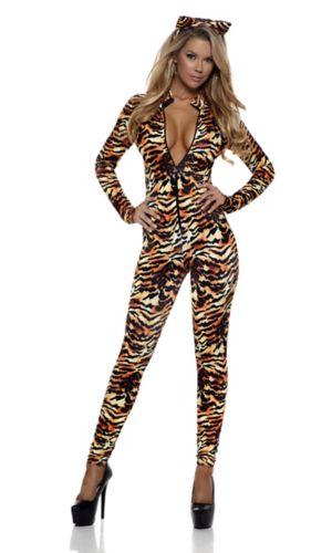 Sexy Adult Seductive Stripes Costume