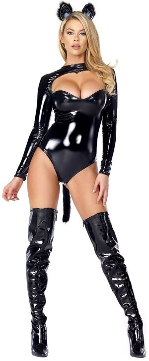 Sexy Adult Feline Fetish Costume
