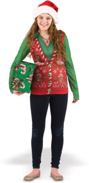 Women's Christmas Vest Shirt