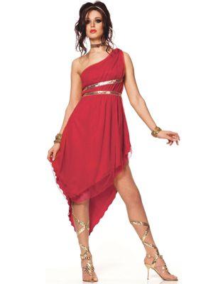Ruby Goddess Costume for Adult
