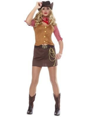 Gun Slinger Cowgirl Womens Costume