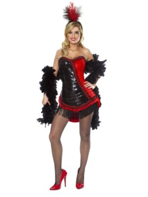 Showgirl Sexy Adult Costume