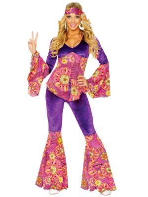 Adult Purple Power Costume