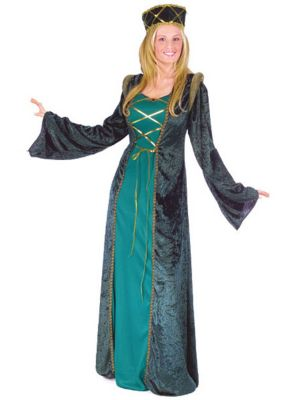 Guinevere Costumes Adults Adult Lady in Waiting Costume