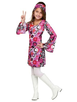Feelin' Groovy Girls Disco Costume