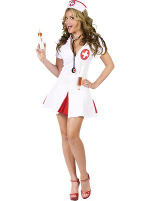 Sexy Adult Say Ahhhhh! Nurse Costume