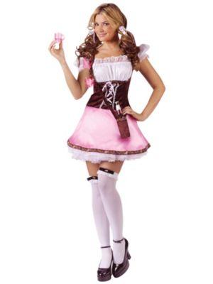 Sexy Adult Beer Garden Girl Costume