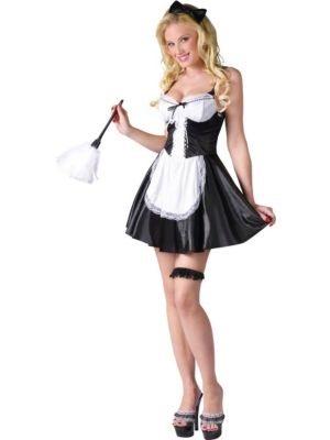 Sexy French Maid Womens Costume