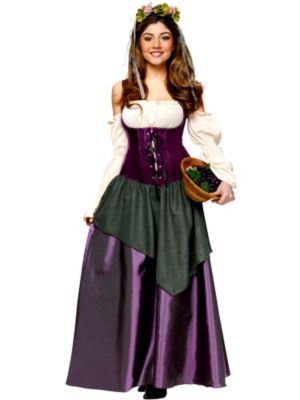 Adult Corset Tavern Wench Costume