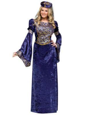 Adult Court Lady Costume