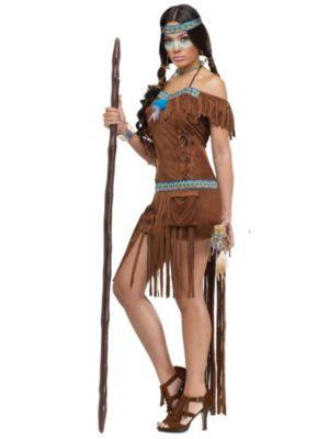 Adult Medicine Woman Indian Costume