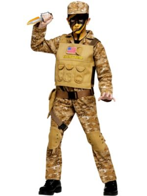 Child Special Ops Commando Costume