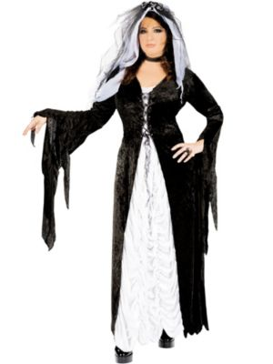 Bride of Darkness Plus Size Costume