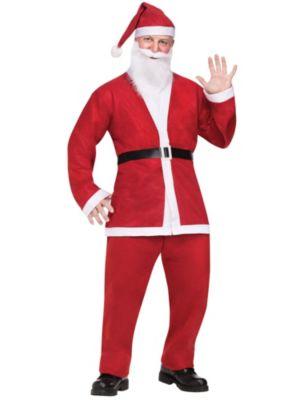 Adult Pub Crawl Santa Suit Costume
