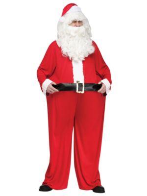 Adult Fat Santa Costume