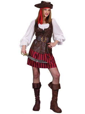 High Seas Buccaneer Costume for Adults