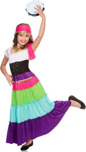 RENAISSANCE GYPSY CHILD COSTUME