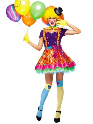 Adult Party Clown Costume