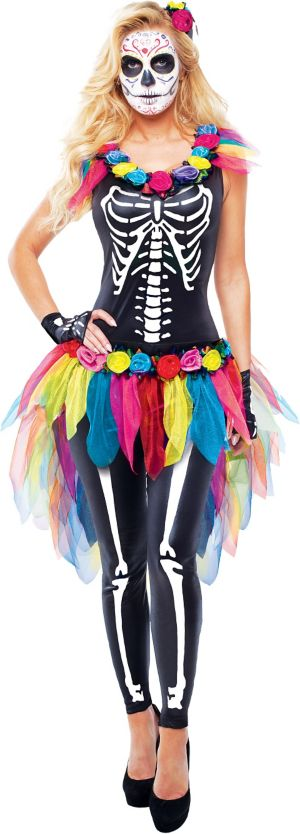 Adult Celebrity Day of the Dead Costume