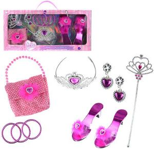 GIRLS PINK PRINCESS ACCESSORY KIT