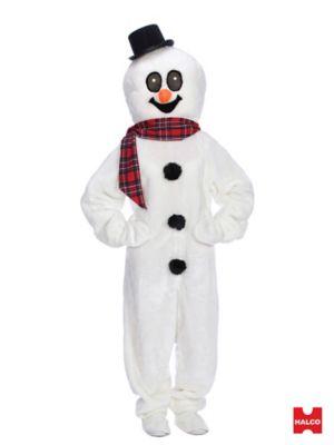 Adult Snowman Suit Costume