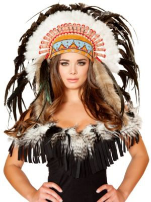 Sexy Deluxe Native American Headdress