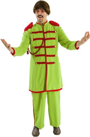 Adult Sgt. Peppers Green Costume