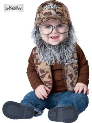 Toddler Duck Dynasty Uncle Si Baby Costume