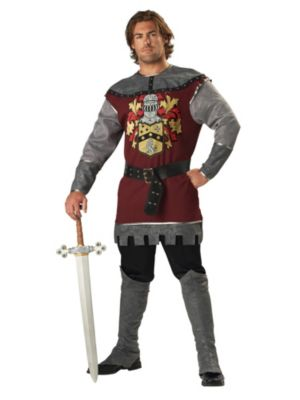 Noble Knight Mens Costume