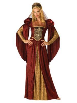 Renaissance Courtesan Womens Costume