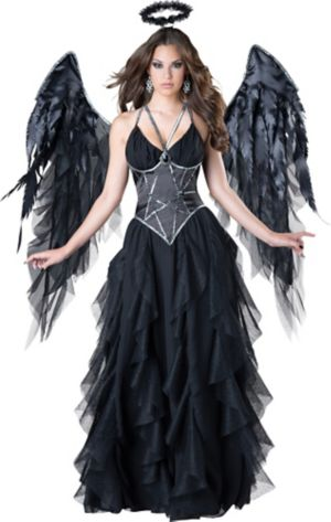 Sexy Adult Dark Angel Costume