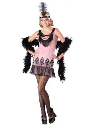 Flirty Flapper Teen Costume