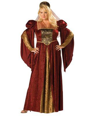 Renaissance Courtesan Plus Size Costume