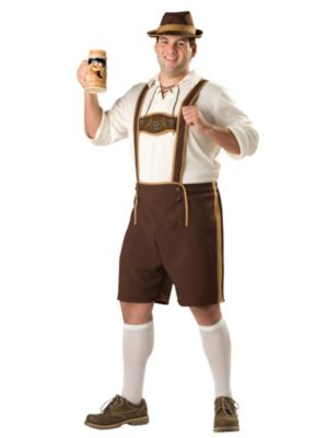 Bavarian Guy Plus Mens Costume