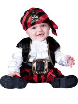 Infant-Toddler Cap'n Stinker Pirate Costume