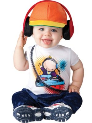 Toddler Baby Beats DJ Costume