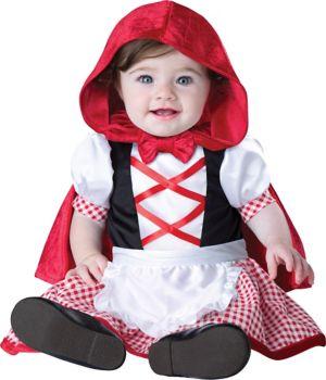 INFANT TODDLER LIL RED RIDING HOOD COSTU