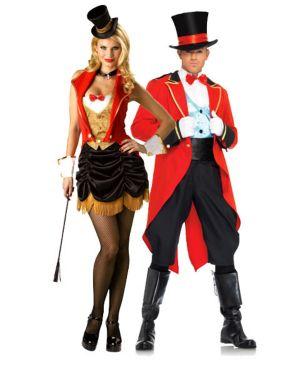 Adult Flirty Three Ring Hottie Couples Costume