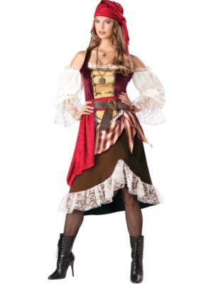Adult Deckhand Darlin Pirate Costume